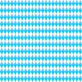 Blue rhombus seamless pattern. Octoberfest vector background. Royalty Free Stock Photo