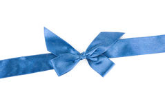 Blue ribbon Royalty Free Stock Images