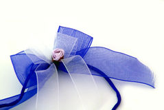 Blue ribbon Stock Images