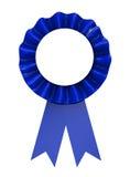 Blue ribbon Royalty Free Stock Images