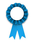 Blue ribbon Royalty Free Stock Photos
