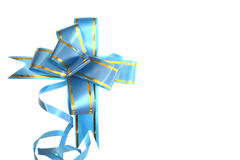 Blue ribbon Royalty Free Stock Image