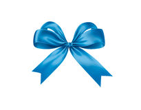 Blue ribbon. Clip cyan first Royalty Free Stock Image