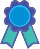 A blue ribbon Royalty Free Stock Photos