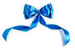 Blue Ribbon Foto de archivo libre de regalías