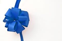 Blue ribbon Royalty Free Stock Photography