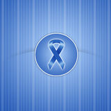 Blue ribbon background Royalty Free Stock Images