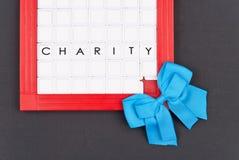Blue Ribbon Charity Royalty Free Stock Photography