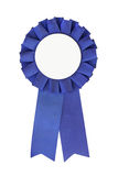 Blue Ribbon close-up royalty free stock photos