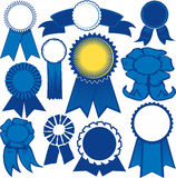 Blue Ribbon Collection Stock Photography