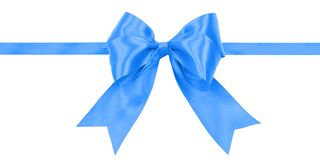 Blue ribbon gift card