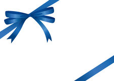 Blue Ribbon (illustration). Blue Ribbon (vector or XXL jpeg image Stock Photography