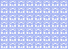 Blue Ribbon Pattern Stock Photos