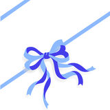 Blue Ribbon vector royalty free stock image