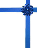 Blue ribbons 03 Royalty Free Stock Photography