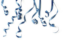 Blue ribbons Stock Photo