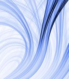 Blue Ribbons Abstract Royalty Free Stock Photo