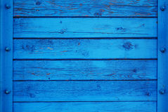 Blue Rich Wood Background Royalty Free Stock Photo
