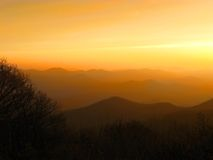 Blue ridge 361 Stock Images