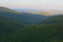 Blue Ridge Expanse early Summer. Stock Photo