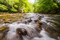 Blue Ridge Mountain River Flow 2 Royalty Free Stock Image