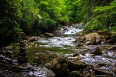 Blue Ridge Mountain Stream Stock Photos