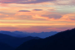 Blue Ridge Mountain Sunrise Royalty Free Stock Photo