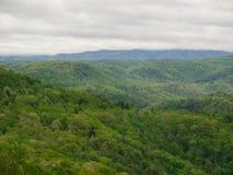 Blue ridge Mountain, VA. During early autumn Royalty Free Stock Image