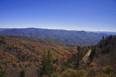 Blue Ridge Mountains Stock Image