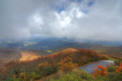 Blue Ridge Mountains Royalty Free Stock Photos
