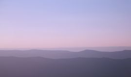 Blue Ridge Mountains Royalty Free Stock Photo