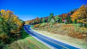 Blue Ridge Mountains and Blue Ridge Parkway Royalty Free Stock Photos