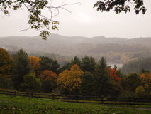 Blue Ridge Mountains. An estate in Blowing Rock, North Carolina, along the Blue Ridge Parkway in fall Stock Photo