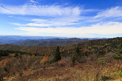 Blue Ridge Mountains in NC Stock Photo