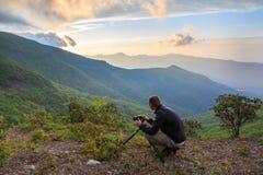 Blue Ridge Mountains Photographer North Carolina Royalty Free Stock Image