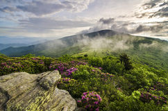 Blue Ridge Mountains Spring Landscape Royalty Free Stock Images