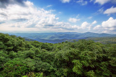 Blue Ridge Mountains Royalty Free Stock Photography