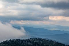 Blue Ridge Mountains Royalty Free Stock Photography
