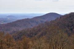 Blue Ridge Mountains, Virginia Royalty Free Stock Photos