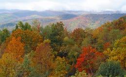 Blue Ridge Mountains widok Obraz Royalty Free