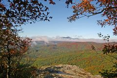 Blue Ridge Mountains widok Obrazy Stock