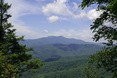 Blue Ridge Mountains widok Fotografia Royalty Free