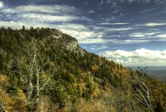 Blue Ridge Parkway Devils Courthouse Royalty Free Stock Image