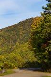 Blue Ridge Parkway Royalty Free Stock Photography