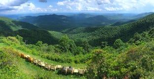Blue Ridge Parkway landscape Stock Images