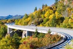 Blue Ridge Parkway, Linn Cove Viaduct. Linn Cove Viaduct Royalty Free Stock Image