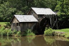 Blue Ridge Parkway - Mabry Mill Stock Image