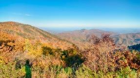 Blue Ridge Parkway National Park Scenic Mountains Stock Photos