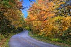 Blue Ridge Parkway North Carolina Autumn Stock Images