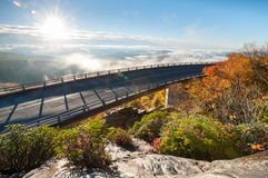 Blue Ridge Parkway North Carolina Linn Cove Viaduct Royalty Free Stock Image